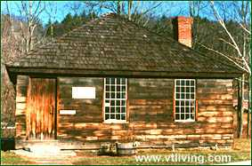 Eureka Schoolhouse Vermont historical site
