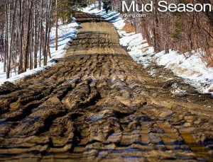 Mud Photos of Vermont.