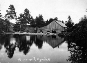 Old Sawmill, Ryegate Vermont