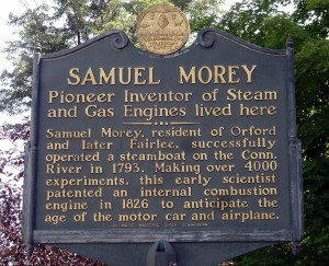 Samuel Morey history,  Click to enlarge view.