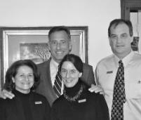 Green Mountain Innkeepers Patti Clark, Vermont Governor Shumlin, GM Ken Biederman
