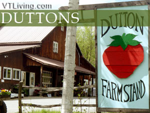 local vermont produce at Duttons Berry Farm in three vermont locations