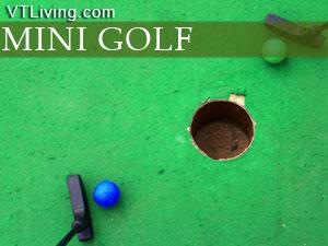 VT mini golf courses, mini-golf, vermont mini-golf locations