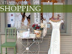 VT shopping malls, Vermont shopping centers, outlet malls