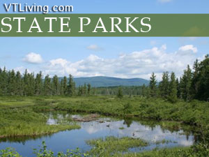 VT state parks camping hunting fishing outdoor sports Vermont Parks Nature preserves