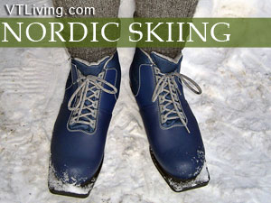 vermont cross country ski trails nordic centers vt xc skiing