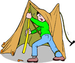 Arrive early so you are not pitching a tent in the dark, Vermont Tent Sites