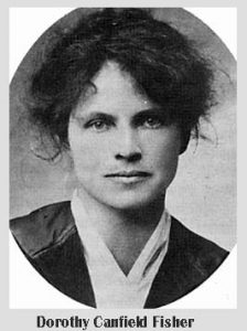 Dorothy Canfield Fisher Vermont historical figure educator social activist
