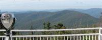 Mt Equinox Skyline Drive auto road, Manchester Vermont attraction