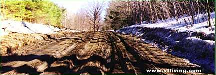 muddy springtime in Vermont