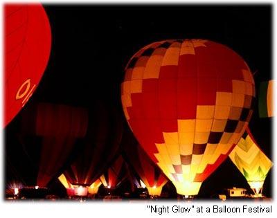 night glow balloons