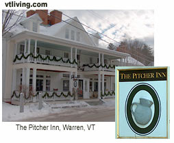Pitcher Inn Warren Vermont Mad River Valley