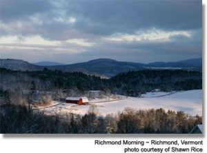 Richmond Morning in Vermont Shawn Rice Photo