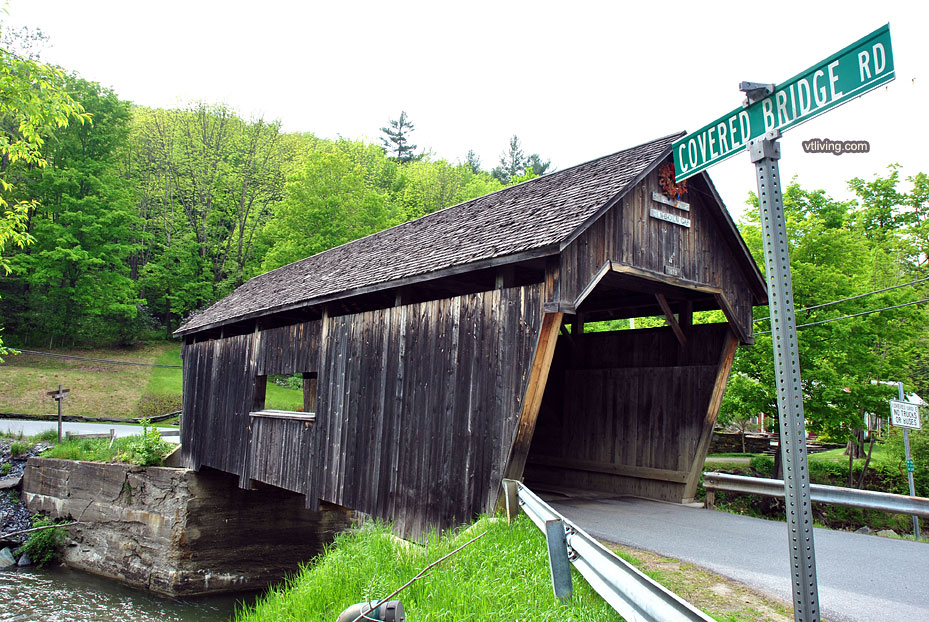 Vermont Covered Bridge Photos History Directions – Vermont Tourist Attractions Map