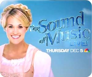 Carrie Underwood Sound of Music Live