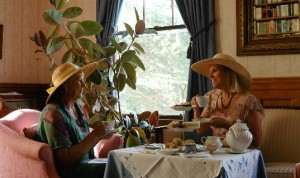 Vermont Tea Room at Governors House , Hyde Park Vermont