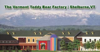 Vermont Teddy Bear Factory,Vermont Teddy Bears, VT teddy bear factory, the Vermont teddy bear factory
