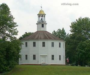 Richmond Vermont historic round church