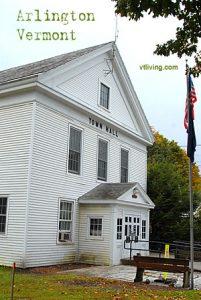 Arlington Vermont Town Hall