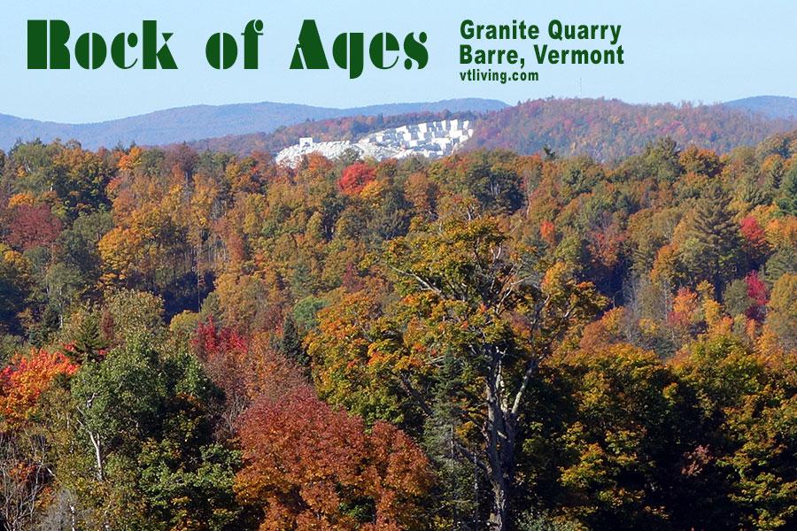 Rock Of Ages Barre Quarry Vermont Granite Quarries Barre