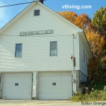 Sutton VT Grange Hall