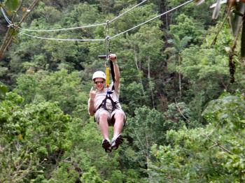 900 foot canopy tour zip lines vermont adventure sport