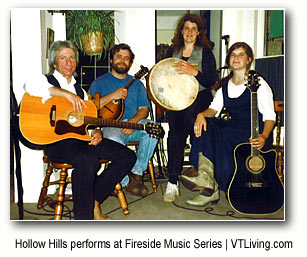 Hollow Hills - live music at the Fireside Music Series at West Mountain Inn Arlington Vermont