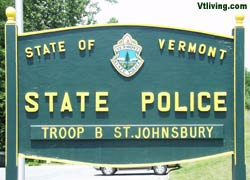 Vermont State Police, VTSP, Vermont Department of Safety, Vermont, Law, Laws, Law Enforcement, Vermont Law Enforcement
