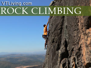 places to rock climb in vermont