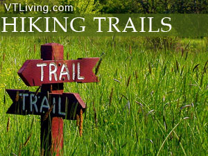VT hiking trails hikes walking paths hikers guide to vermont