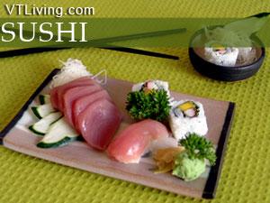 Vermont sushi restaurants japanese cuising, nigiri sashimi make futomaki