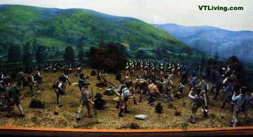 battle at Bennington Vermont, US Revolutionary War, United States Revolution