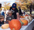 a family halloween at Billings Farm, Woodstock, VT fall events