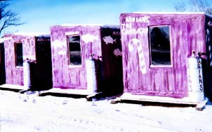 Ice Fishing Shack, Ice Fishing Shanty, Bob House