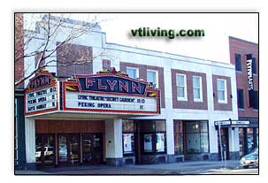 Flynn Theatre, Flynn Center, Flynn center for the Performing Arts, Performance Arts