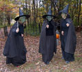 Haunted forest, halloween event in Wilmington, VT