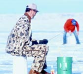 Ice fishing vacations