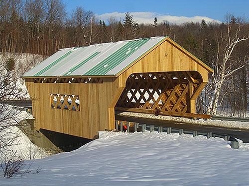 Lattice Covered Bridge, VermontCovered Bridge