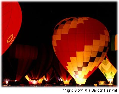 night glow balloons
