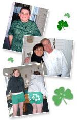 Shamrocks Rock Irish apparel