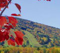 vt ski mountain foliage