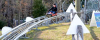 Timber Ripper Mountain Coaster Jackson Gore Okemo Mountain outdoor adventure amusement park Ludlow Vermont attraction