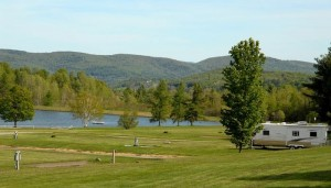 RV Campsites at Lake Champagne