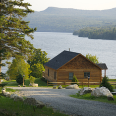 Vermont Lakeside Cabin Rentals - NEK Vermont