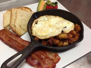 Vermont country breakfast at Wilmington Inn Vermont