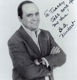 Bob Newhart at the Middlebury Inn in Vermont