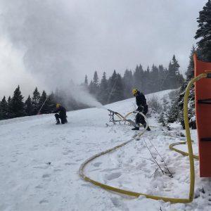 Stowe Mountain Resort snowmaking