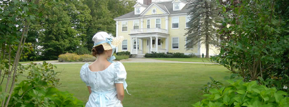 Jane Austen Weekend Governor's House at Hyde Park Vermont