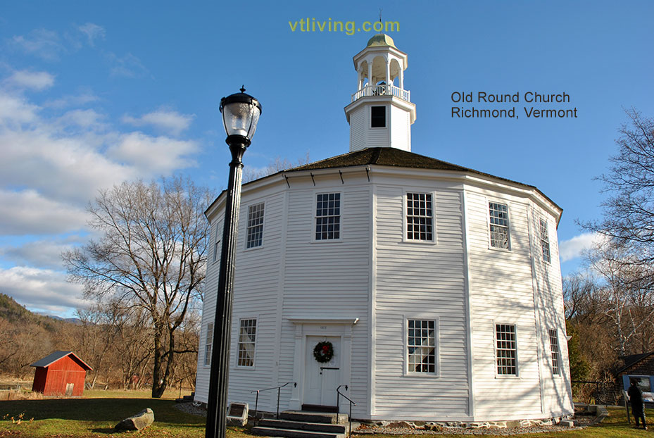 Old Round Church Richmond Vermont
