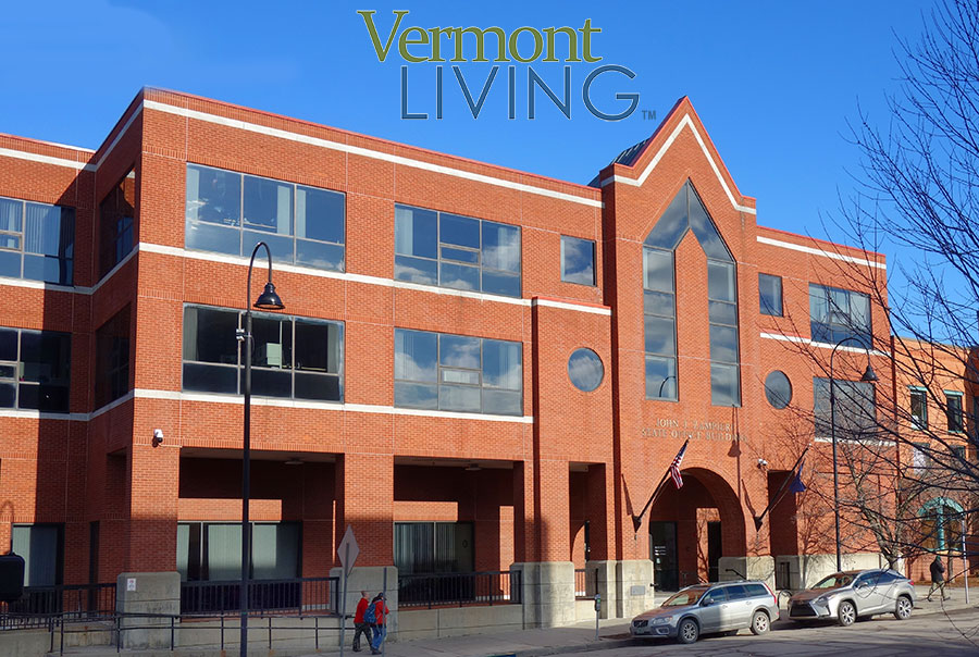 John Zamberi State of Vermont Office Building Burlington VT